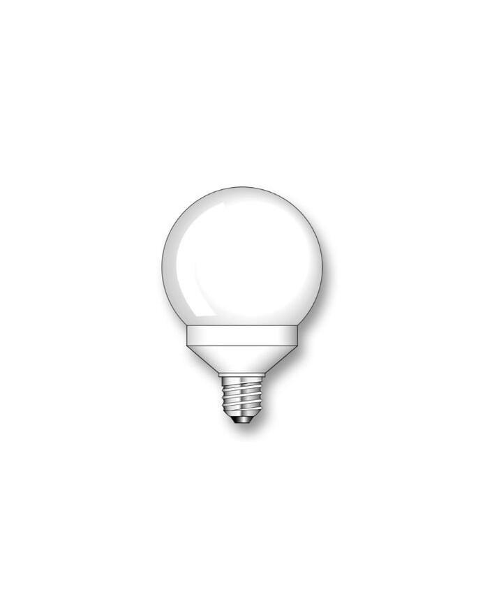 Lámpara Duralux Globo 24W E27