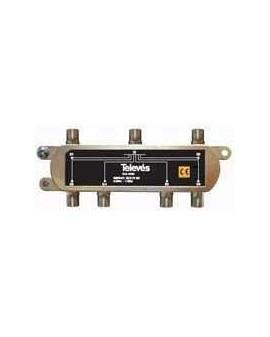 Repartidor Interior SCATV 6 salidas conector F 1000 MHz