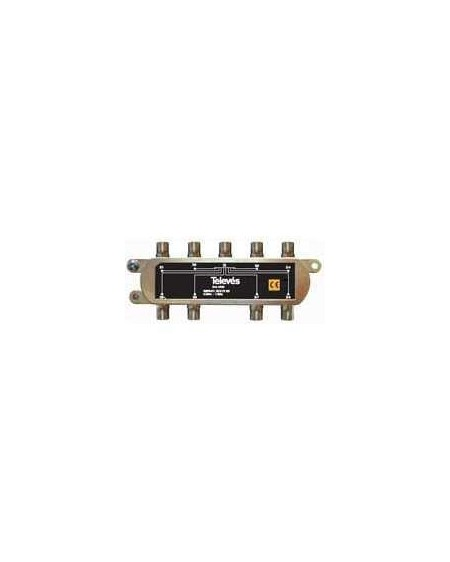 Repartidor Interior SCATV 8 salidas conector F 1000 MHz