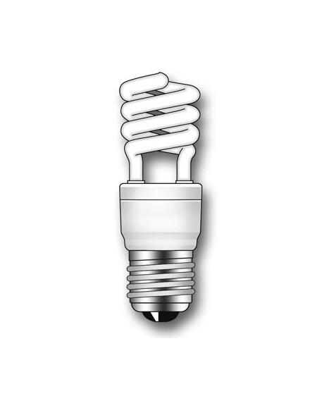 Lámpara Duralux MINI TWIST ECO Luz natural 9W E27