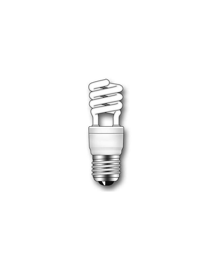 Lámpara Duralux MINI TWIST ECO Luz natural 12W E27