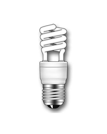 Lámpara Duralux MINI TWIST ECO Luz natural 15W E27