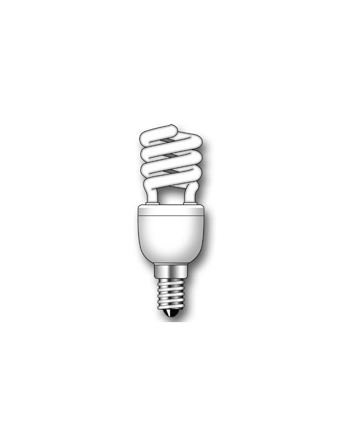 Lámpara Duralux MINI TWIST ECO Luz natural 7W E14