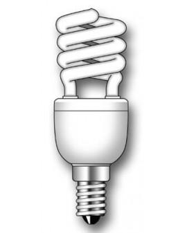 Lámpara Duralux MINI TWIST ECO Luz natural 9W E14