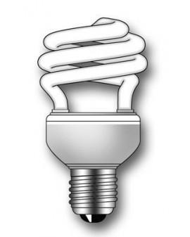 Lámpara Duralux TWIST ECO Luz natural 18W E27