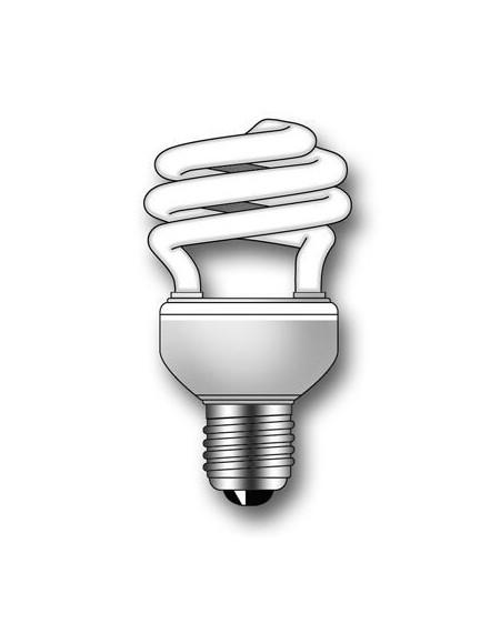 Lámpara Duralux TWIST ECO Luz natural 23W E27