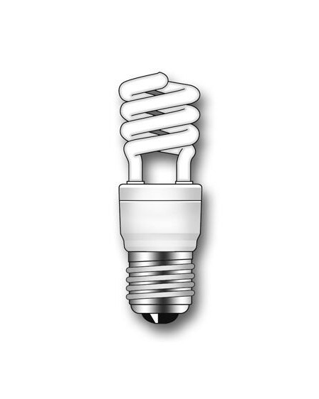 Lámpara Duralux MINI TWIST ECO Luz íntima 12W E27