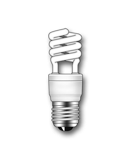 Lámpara Duralux MINI TWIST ECO Luz íntima 15W E27