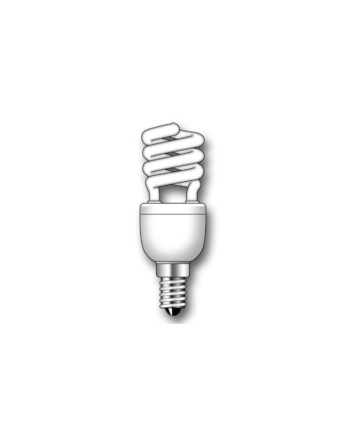 Lámpara Duralux MINI TWIST ECO Luz íntima 9W E14
