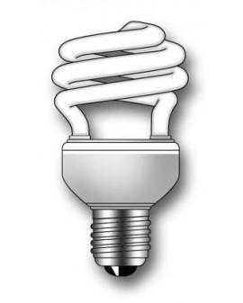 Lámpara Duralux TWIST ECO Luz íntima 23W E27