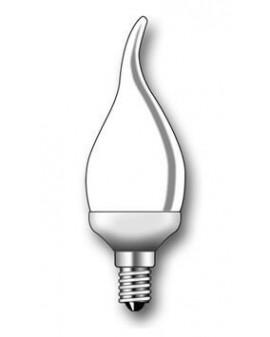 Lámpara Duralux FLAMA Luz íntima 7W E14