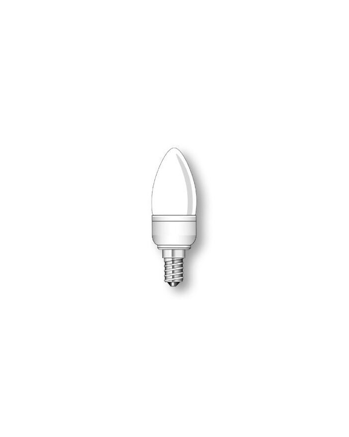 Lámpara Duralux VELA Luz íntima 7W E14
