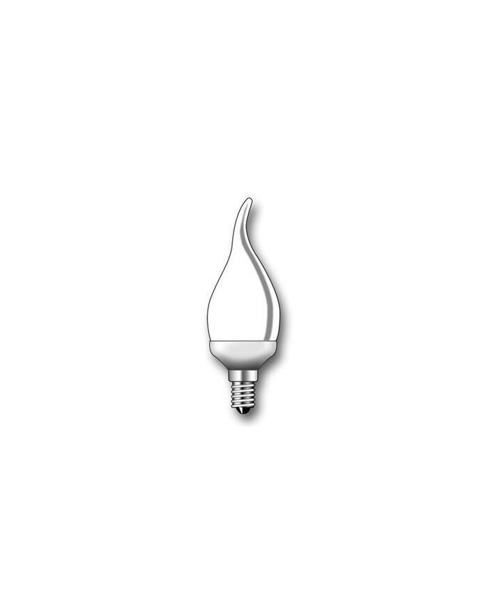 Lámpara Duralux FLAMA Luz íntima 11W E14