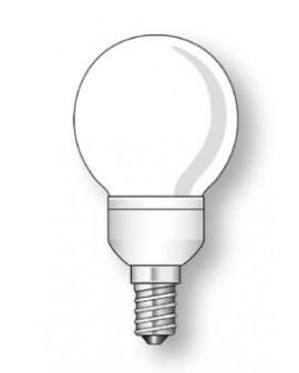 Lámpara Duralux ESFÉRICA Luz natural 11W E14