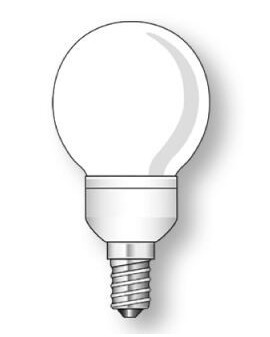 Lámpara Duralux ESFÉRICA Luz íntima 11W E14