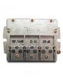 Derivador con Brida easy F, 4 direc. 29 dB D (plantas 6, 8).