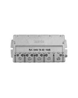 Derivador con Brida easy F, 6 direc. 16 dB TA (planta 1).