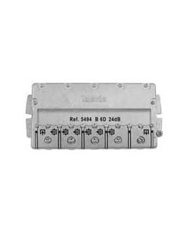 Derivador con Brida easy F, 6 direc. 24 dB B (planta 4,5).