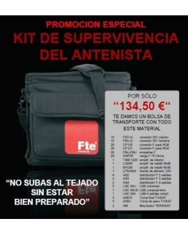 KIT DE SUPERVIVENCIA DEL ANTENISTA