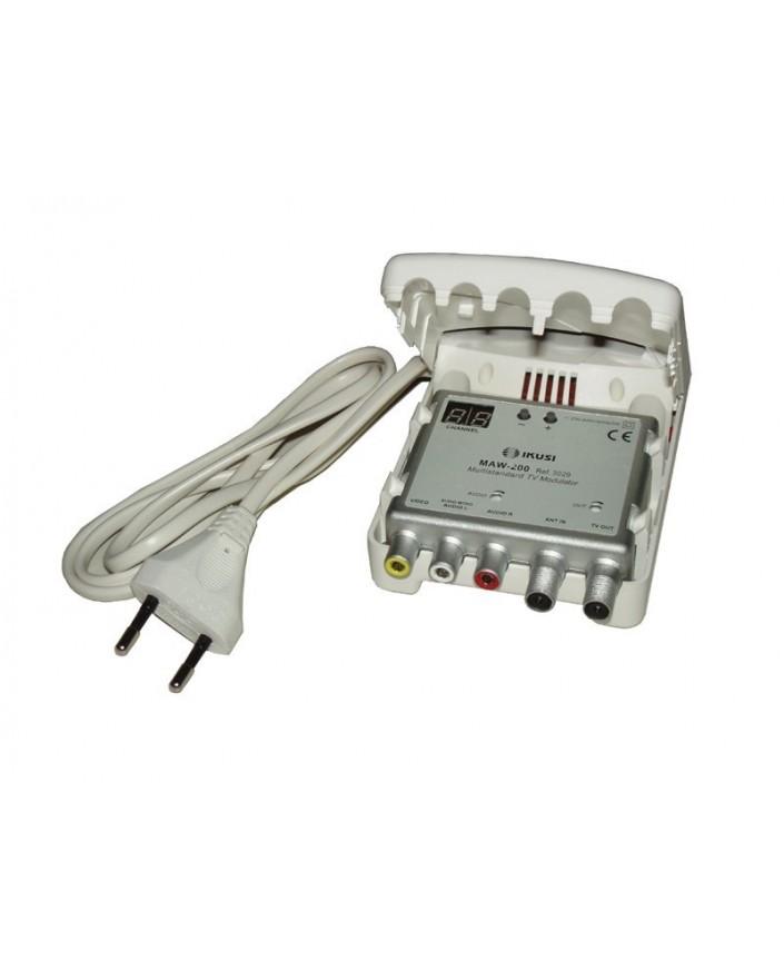 MAW-200 MODULADOR AUTONOMO (VHF/UHF) CON DISPLAY