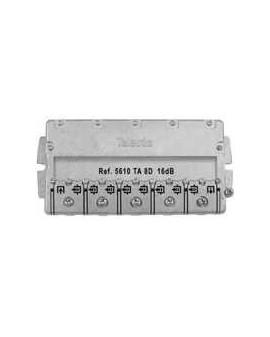 Derivador con Brida easy F, 8 direc. 18 dB TA (planta 1).