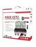 KIT CCTV FREE FX-4 HOMMAX