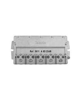 Derivador conector easy F, 8 salidas, 22 dB Interior A (planta 2)