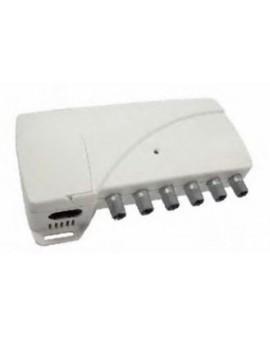 Central Amplificadora 4 entradas 1 salida BI - FM - BIII/DAB - UHF NBS-204 Ikusi 3516