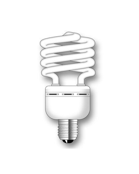 Lámpara SuperDuralux TWIST Luz Natural 35W E27