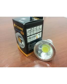 Bombilla dicroica LED COB 5W GU10 luz blanca 5000k Atmoss