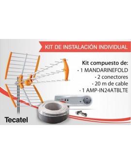 Kit Instalación Individual TDT Tecatel