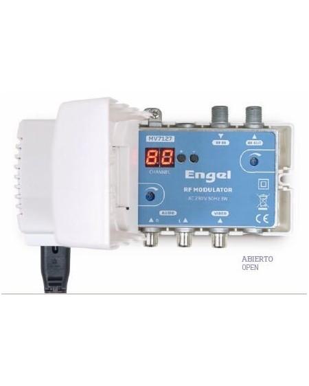 Modulador AV RF UHF + VHF Engel MV7127