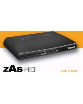Receptor satélite ZAS HD
