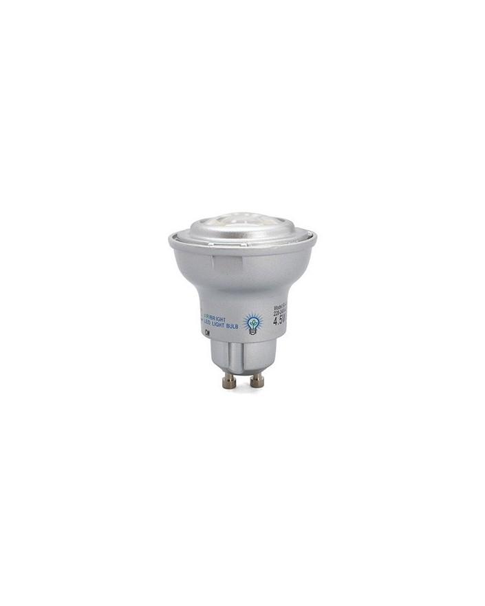 Dicroica LED 4.5W Regulable GU10 6000k 60º 250 Lmn Viribright 73379