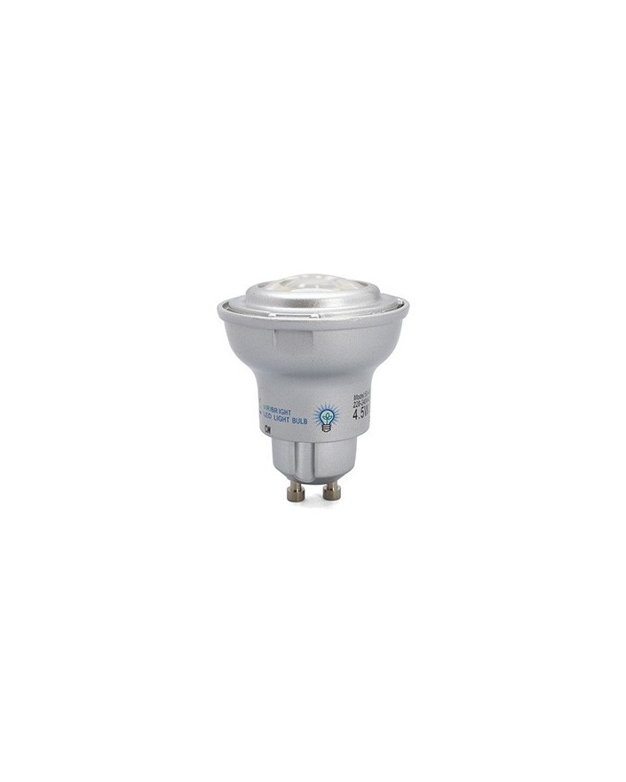 Dicroica LED 4.5W Regulable GU10 4000k 60º 250 Lmn Viribright 73381