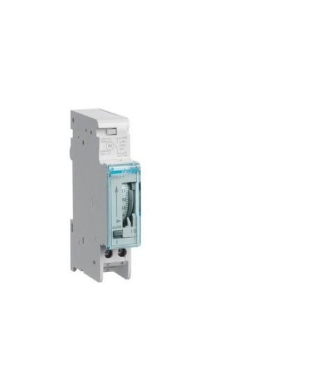 Interruptor horario Hager EH011 con reserva 200 horas