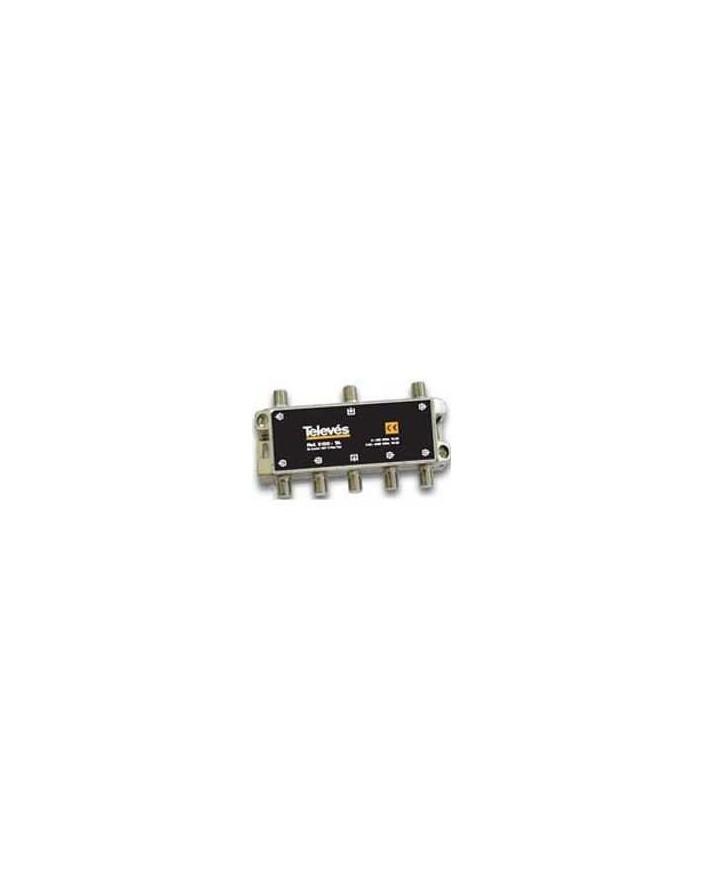 Derivador conector F, 6 salidas, 19 dB Interior TA (planta 1)