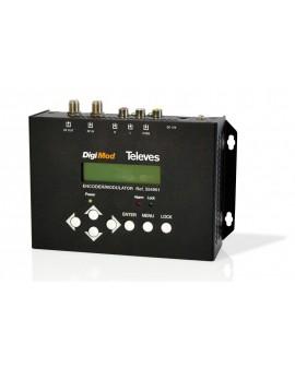 Modulador doméstico COFDM 1 canal AV / CVBS Digimod 554901