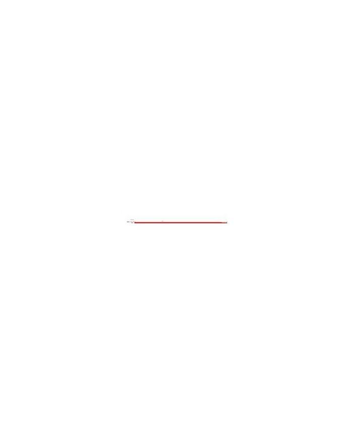 Mastil 45x2 mm 3 m (rojo)
