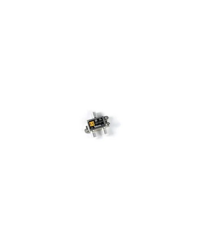 Derivador con conector F, 2d 4db