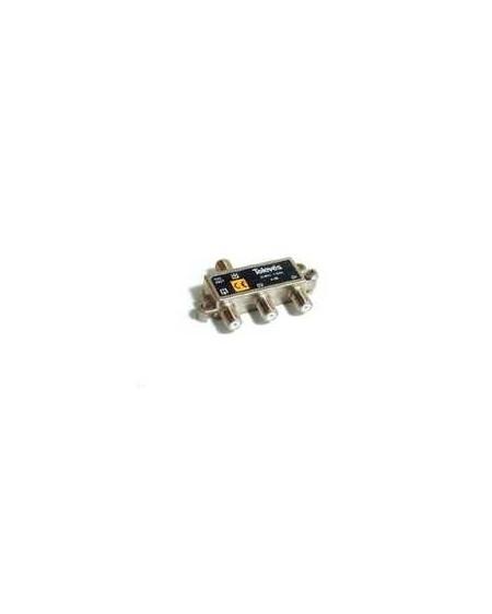 Derivador conector F, 2 salidas, 8 dB Interior