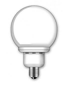 Lámpara SuperDuralux Globo Luz natural 30W E27