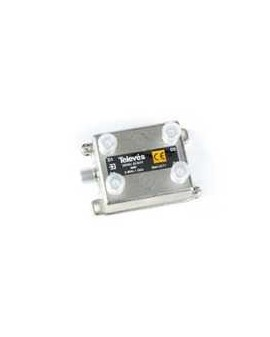 Derivador con conector F, 4d 8db