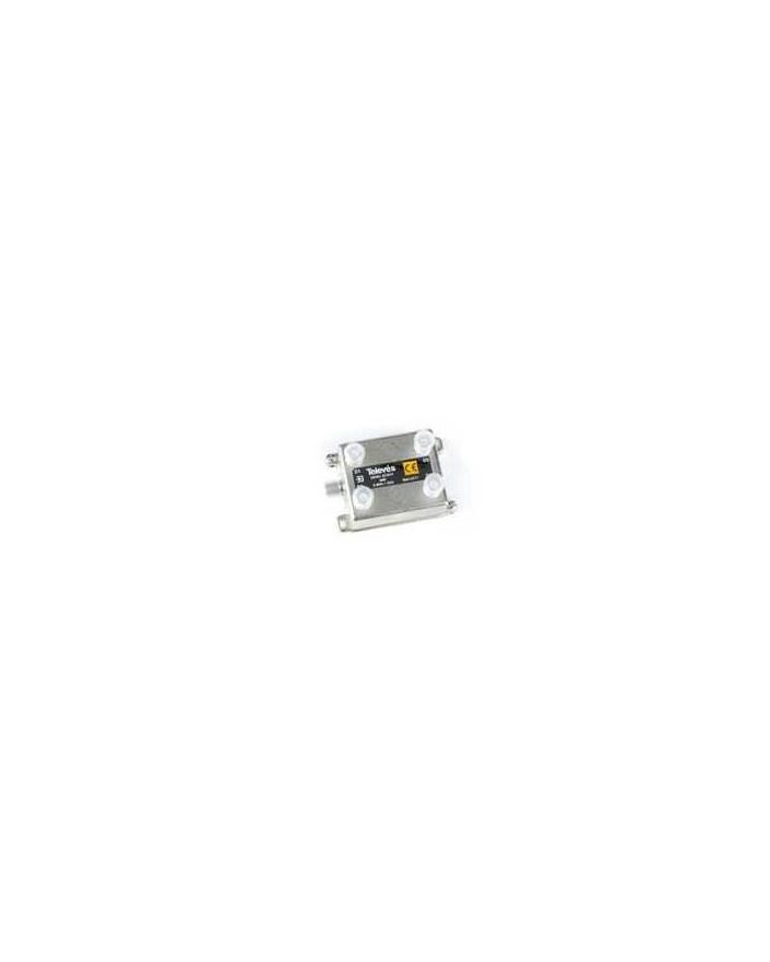 Derivador conector F, 4 salidas, 8 dB  Interior