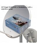 KIT Engel RS4800HD + Antena tecatel 60 CM completa