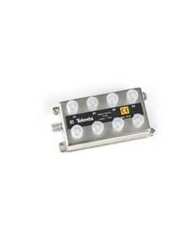 Derivador con conector F, 8d 12db