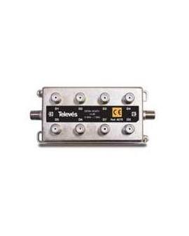 Derivador con conector F, 8d 14db