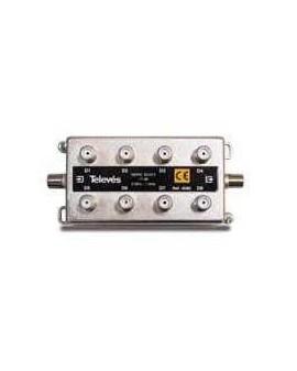 Derivador con conector F, 8d 17db.