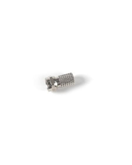 Conector F roscado con junta torica 6,6 mm