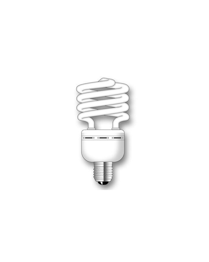 Lámpara SuperDuralux TWIST Luz íntima 35W E27